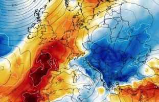Rinfrescata vista dal modello Europeo