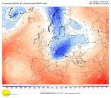 Qualcosa si muove all'orizzonte: colate fredde verso il Mediterraneo