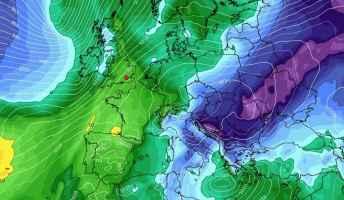 Modello europeo ECMFW per il 6 gennaio 2020