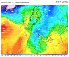 Gelo in arrivo per l'Epifania: il nostro modello conferma