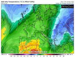 I primi affondi freddi sui Balcani