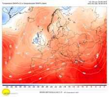 Un vortice ciclonico invierà nuove infiltrazioni instabili sulla Penisola