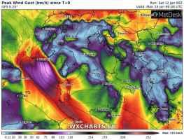 Venti di burrasca sul Mediterraneo. A rischio Isole Maggiori, Alpi e Sud Italia