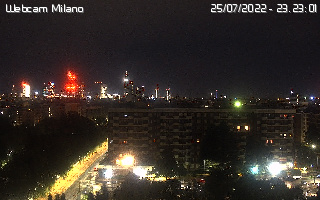 webcam milano