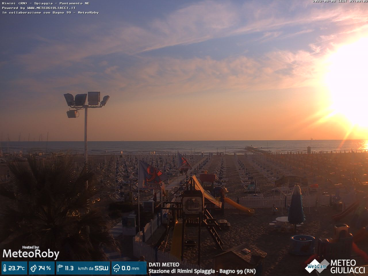 webcam rimini